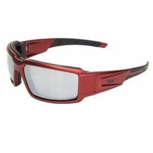 Sun Cheater Sunglasses Z87 Red Motorcycle Glasses